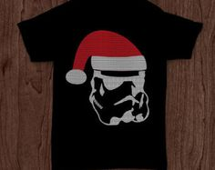 Storm Trooper santa claus ugly Christmas sweater Star Wars shirt funny t-shirt tee tshirt family holiday shirt kid's infant's youth shirt