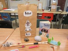"""It's In The Bag"" book report activity!"