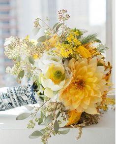 #yellow #wedding #bouquet!