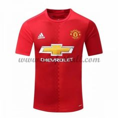 Billige Fotballdrakter Manchester United 2016-17 Hjemme Draktsett Kortermet Manchester United Trikot, Premier League, Barcelona, The Unit, Club, Tops, Soccer Jerseys, Beginning Sounds, Football Soccer