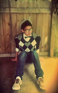 My first bow tie (: