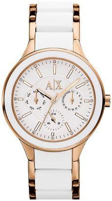 51e5b363ff5 Best Bracelet 2017  2018   AX Armani Exchange Silicone Bracelet Watch  Bulova