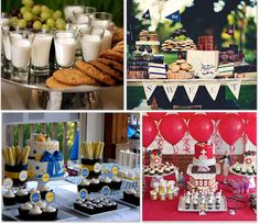 This post has links to so many fun ideas for graduation parties I could hardly choose which photo to pin!