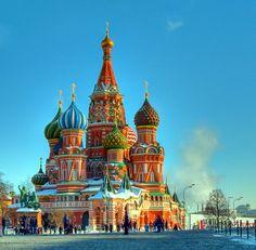 Catedral de S. Basílio, Moscovo, Rússia