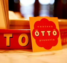 Otto Pizzeria/Wine bar