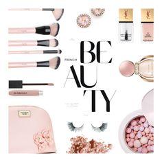 """Spring..."" by rasa-j ❤ liked on Polyvore featuring beauty, Victoria's Secret, Yves Saint Laurent, Burberry, Dana Rebecca Designs, Bulgari, Unicorn Lashes, Bobbi Brown Cosmetics, Guerlain and beautyset"