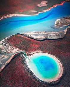 In Sarki bay, Australia.