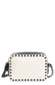 Valentino 'Rockstud' Camera Crossbody Bag available at #Nordstrom
