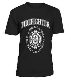 Firefighter Dad  Funny Firefighter T-shirt, Best Firefighter T-shirt