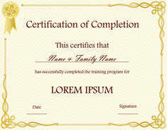 download blank certificate template X3Hr9dTo   St. Gabriel's Youth ...