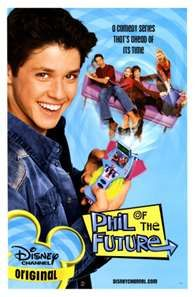 "phil of the future.. What if the show ended with an alien invasion, and Phil woke up to find he was the only human left from his planet. Then he turns around, and he's face to face... With the TARDIS! And then a girl comes out and says, ""Doctor, I finally found you!"""