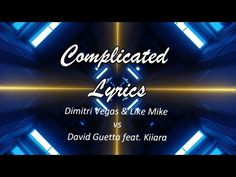 Complicated Lyrics || English Song Lyrics || SDP Present - YouTube Like Mike, David Guetta, Music Lyrics, Music Videos, English, Songs, Youtube, Lyrics