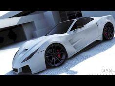SV8.R Conversion by Supervettes LLC for C6 / C7 Corvetttes - YouTube