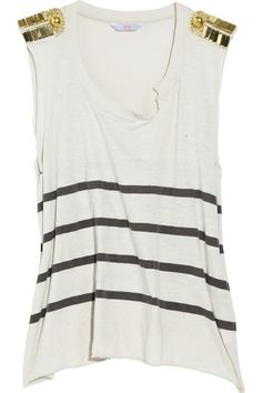 Sass & Bide | The Art Beat cotton tank