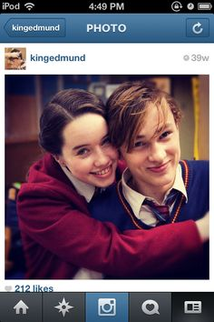 Anna and Will, Narnia cast. :)