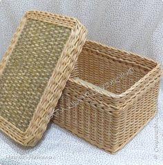 Поделка изделие Плетение Март-апрель Трубочки бумажные фото 10