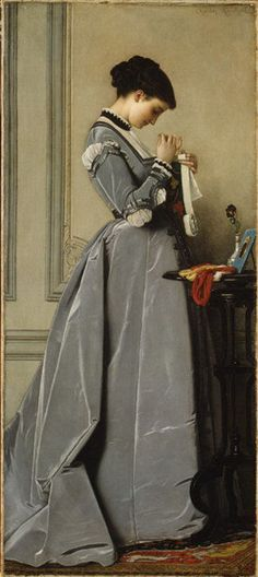 """Penelope"", 1868 ~ by Charles-François Marchal (French, Paris 1825–1877 Paris) -- The Metropolitan Museaum of Art"