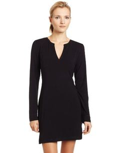 Calvin Klein Women's Essentials Long Sleeve Night Dress, Black, Small | Amazon Promo Code