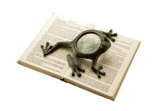 Long Leg Frog Magnifying Glass via Amazon (Anecdotal Aardvark)