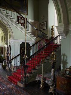earlgreyandscones:  Staircase at Clandeboye House
