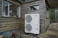 Air Source Heat Pump installed by Evergreen Renewable Energy Ltd