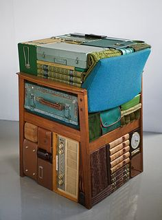 Conceptual.  Storage shelf or chair?
