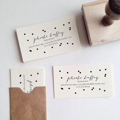 business card STAMP. genius! https://www.etsy.com/shop/stationeryboutique?ref=pr_shop_more
