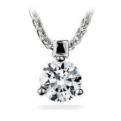 #myhofwishlist Three Prong Solitaire Pendant Simple and perfect