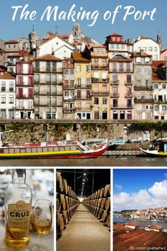 The making of Port in Vila Nova de Gaia, Northern Portugal - a tour of some of the Port Houses in Porto