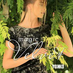 Magic Velvet #yokko #velvet #partydress #fall18 #madeinromania Party Dress, Chokers, Velvet, Magic, Slim, Elegant, How To Make, Fashion, Classy