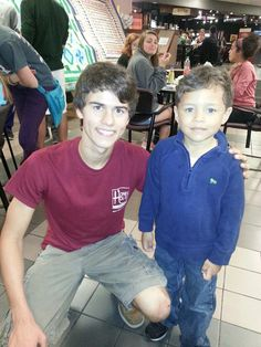 John Luke. He is so sweet! Can I have a picture with u !!!
