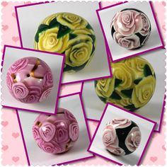 Polymer Beads, Polymer Clay, Etsy Seller, Create, Rose, Tutorials, Artists, Jewelry, Fimo