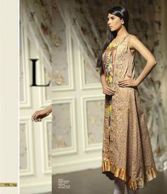 Sana & Samia Digital Embroided Kurti Vol 3. SSK_04