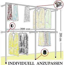 Lovely Details zu begehbarer Kleiderschrank KLEIDERSTANGE Kleiderst nder GARDEROBEZIMMER Art W