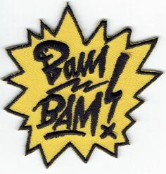 BAM! een knaller van studio BamBam Bambam, Bat Signal, Superhero Logos, Badge, Van, Studio, Style, Swag, Studios