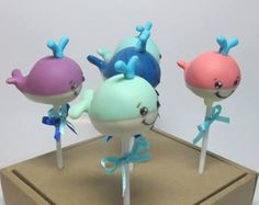 Whales (Cake Pops)