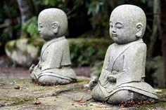 Koya-San Buddhist Monk Statues