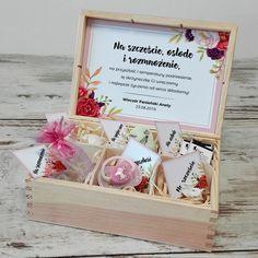 Pomysł na prezent na panieński - przepiękna skrzyneczka mężatki z niesamowitym wypełnieniem!