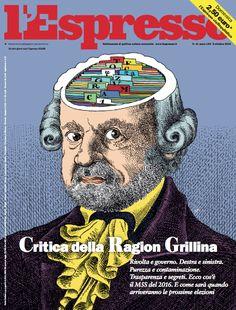 La copertina dell'Espresso in edicola domenica 9 ottobre