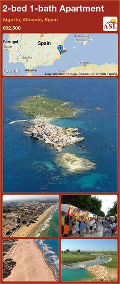 2-bed 1-bath Apartment in Algorfa, Alicante, Spain ►€62,500 #PropertyForSaleInSpain