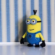 Minion Tim (Despicable Me) amigurumi crochet pattern by AradiyaToys