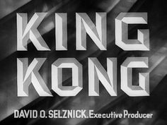 King Kong (1933) Blu-ray movie title