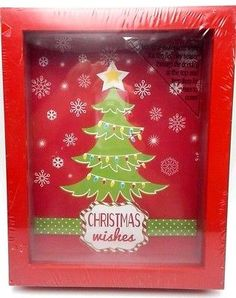 Framed Wish Box Christmas Wishes 8x10 inch wood New Christmas Wish Box Framed Christmas Wishes 8x10 inch Wood Slide your Holiday wishes in the slit at the top. New purchased for resale by Keywebco Video inspected during shipping Shipped fast and free from the USA The item for sale is pictured and described on this page. The stock photo may include additional items for display purpose only - which will not be included. Packages may show wear or be opened if the battery is replaced or during…
