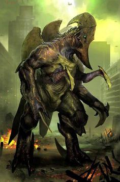 Pacific Rim Concept Art for Kaiju