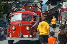 Burnaby Fire Department Heritage Fire Truck