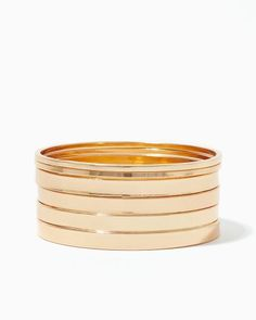 Stay Sleek Bangle Set | Bracelets | charming charlie