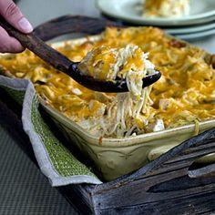 Rich & Satisfying Casseroles   Chicken Tetrazzini