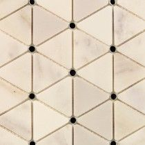 Highland Sardonyx Marble and Mirror Glass Tile