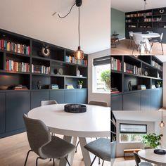 www.lifs.nl #lifs #interiordesign #interior #jaren30 #stalenpui #ontwerp #erker #maatwerk #haard Decor, Table, Home, Furniture, Room Set, Conference Room Table, Interior Design, Room, Dining Room