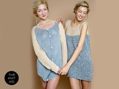 knitted dress cashmere mohair bulky nude grey theknitkid with leggins and boots love